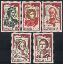 Buy France French Actors and Actresses mnh 1961