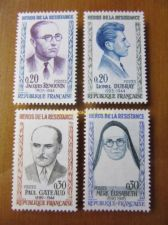 Buy France Heroes of the Resistance mnh 1961