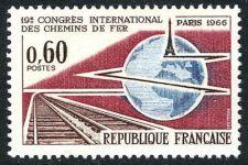 Buy France International Railway Congress mnh 1966
