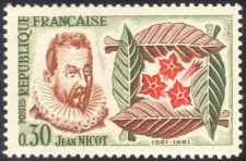 Buy France Introduction of Tobacco mnh 1961