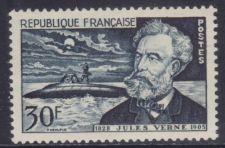 Buy France Jules Verne mnh 1955