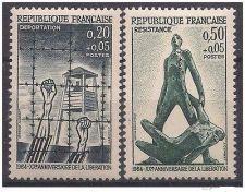 Buy France Liberation mnh 1964