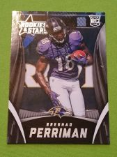 Buy NFL 2015 PANINI ROOKIES & STARS BRESHAD PERRIMAN RAVENS SUPERSTAR RC #144 MNT