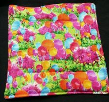 Buy 100% quilted Cotton Pot Holder Lollipops design by Candy Land hand made