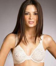 Buy SB003 Donna Karan NEW 351516 Simply Beautiful Black Unlined Sheer Lace UW Bra