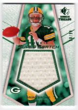 Buy NFL 2008 SP ROOKIE THREADS BRIAN BROHM JUMBO JERSEY /99 MNT