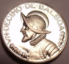 Buy Rare Proof Panama 1974 1/10th Balboa~Only 18,000 Minted~Fantastic~Free Shipping