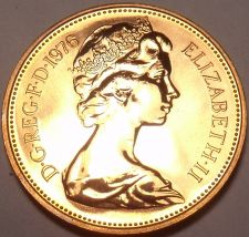 Buy Proof Great Britain 1977 2 Pence~See All Our UK Proofs~194,000 Minted~Free Ship