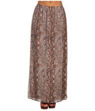 Buy Christin Michaels Women's Eider Skirt Taupe/Multi, Medium