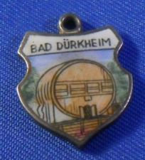 Buy BAD DURKHEIM Enamel & 835 Silver Travel Shield Souvenir Charm