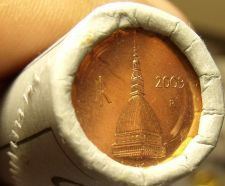 Buy Unc Original Roll (50) Italy 2000 2 Euro Cents~The Tower Mole Antonelliana~Fr/Sh