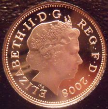 Buy Rare Gem Cameo Great Britain 2008 Penny~The Badge Of King Henry VII~Free Ship