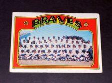 Buy VINTAGE ATLANTA BRAVES 1972 TOPPS TEAM CARD #21 GD-VG