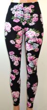 Buy E&K All Over Floral Print Stretch Leggings,One Size