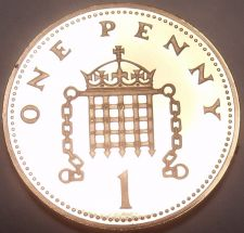 Buy Proof Great Britain 1987 Penny~See Why Proofs Are The Best~Free Shipping