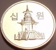 Buy Gem Uncirculated South Korea 2007 10 Won~Pagota~We Have Korean Coins~Free Ship