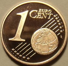 Buy Cameo Proof Germany 2003-G 1 Euro Cent~Karlsruhe Mint~Excellent~Free Shipping~