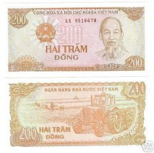 Buy VIETNAM 200 DONG AWESOME NOTE GEM UNCIRCULATED~FR/SHIP~