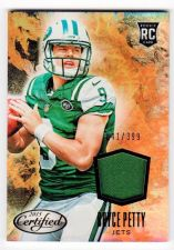 Buy NFL 2015 PANINI CERTIFIED BRYCE PETTY JERSEY /399 MNT