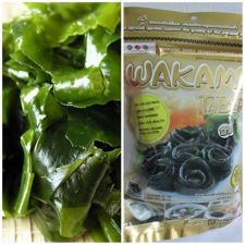 Buy Wakame Dried Seaweed JAPAN Halal Food 1.7 oz 50 g for Miso Soup Udon Ramen Salad