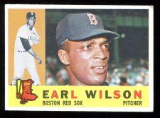 Buy 1960 TOPPS EARL WILSON, #249, EX-MT (60T0229)