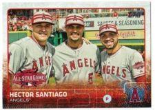 Buy 2015 Topps Update #US307 Hector Santiago Los Angeles Angels