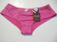 Buy Z0101 New York Elegance NEW Pink Stretch Microfiber Picot Waistband Hipster M PR