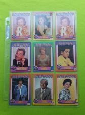 Buy VINTAGE LOT OF 9 1991 STARLINE HOLLYWOOD SUPERSTAR COLLECTORS CARDS LOT #2 GD-VG