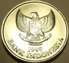 Buy Gem Unc Indonesia 1999 100 Rupiah~Spread Eagle~Palm Cockatoo~Free Shipping