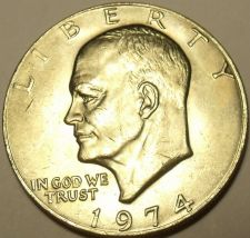 Buy UNC 1974P EISENHOWER DOLLAR~SEE R E-BAY STORE~FREE SHIP