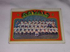 Buy VINTAGE 1972 TOPPS K.C. ROYALS TEAM BASEBALL #21 GD-VG