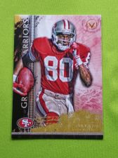 Buy NFL 2015 TOPPS VALOR JERRY RICE 49ers HOF SUPERSTAR GRIDIRON WARRIORS INSERT MNT