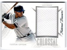 Buy MLB 2015 NATIONAL TREASURES JUSTIN UPTON JERSEY /99 MNT