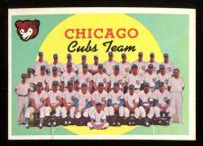 Buy 1959 TOPPS CHICAGO CUBS, #304, POOR (59T0168)