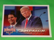 Buy 2016 Presidential Decision Donald Trump first debate Collectible Trading Card