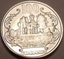 Buy Gem Unc Paraguay 2007 100 Guaranies~The Ruins Of Humaita~Free Shipping