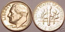 Buy 1970-P BRILLIANT UNCIRCULATED ROOSEVELT DIME~FREE SHIP~