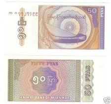 MYANMAR 20 KYATS GEM UNC NOTE~ELEPHANT FOUNTAIN~FREE SH