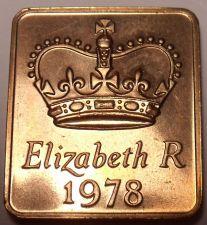 Buy Great Britain 1978 Proof Set Medallion~Great For Birthdays & Anniversarys~Fr/Shi