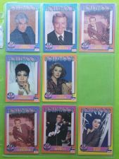 Buy VINTAGE LOT OF 8 1991 STARLINE HOLLYWOOD SUPERSTAR COLLECTORS CARDS LOT #11 GD
