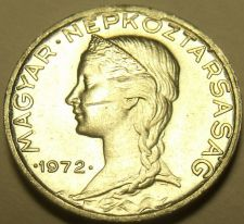 Buy Gem Unc Hungary 1972 5 Filler~Only 50,000 Minted~Free Shipping