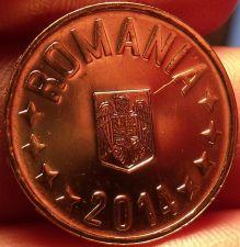 Buy Gem Unc Romania 2014 50 Bani~Edge Incription~We Have Romanian Coins~Free Ship