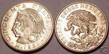 Buy GEM UNC 1965 MEXICO 50 CENTAVOS~FREE SHIPPING INCLUDED~