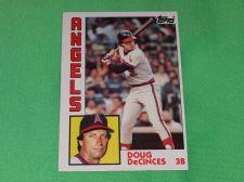 Buy VINTAGE Doug DeCinces Angels Superstar 1984 Topps Baseball GD-VG