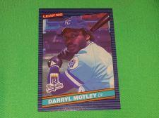 Buy VINTAGE Darryl Motley Royals Superstar 1986 Leaf Baseball GD-VG