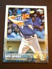 Buy MLB WIL MYERS PADRES SUPERSTAR 2015 TOPPS CHROME #53 MNT