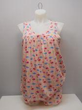 Buy PLUS SIZE 3X Women 2PC Shorty PJ Set SECRET TREASURES Pink Flamingos Sleeveless