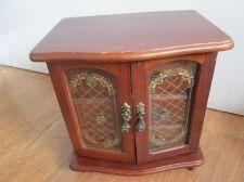 Buy Vintage Wooden Wardrobe Multipurpose 3 Drawers,JAPAN Trinket Boxes,for Dollhouse