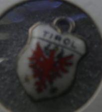 Buy TIROL Enamel over 800 Silver Travel Shield Souvenir Charm signed REU