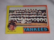 Buy VINTAGE 1972 TOPPS N.Y. YANKEES TEAM BASEBALL GD-VG